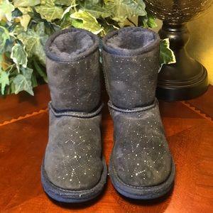 UGG Navy Blue Constellation Short Boots